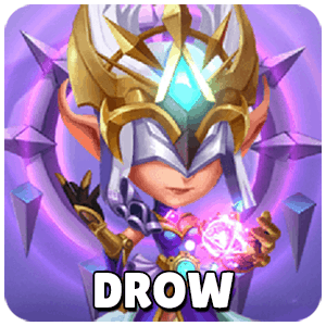 Drow Icon TapTap Heroes