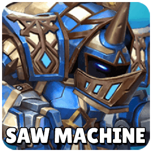Saw Machine Icon TapTap Heroes