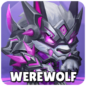 Werewolf Icon TapTap Heroes