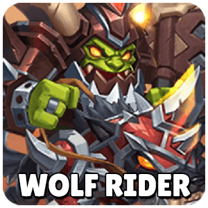 Wolf Rider Icon TapTap Heroes