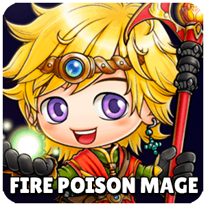 Fire Poison Mage Class Icon Maplestory