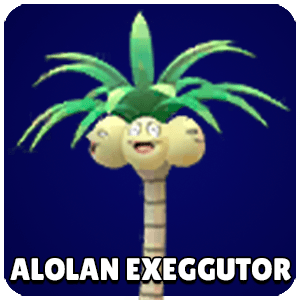 Alolan Exeggutor Pokemon Icon Pokemon Go