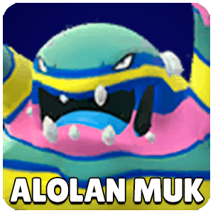 Alolan Muk Pokemon Icon Pokemon Go