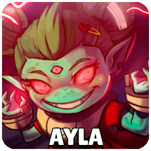 Ayla Character Icon Awesomenauts