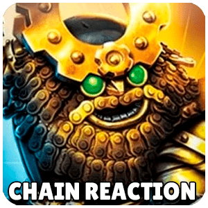 Chain Reaction Skylander Icon Skylanders Ring of Heroes