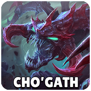 Cho Gath Champion Icon Teamfight Tactics