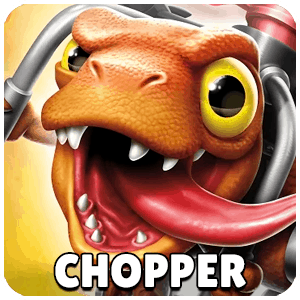 Chopper Skylander Icon Skylanders Ring of Heroes