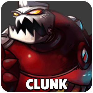 Clunk Character Icon Awesomenauts