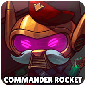 Commander Rocket Character Icon Awesomenauts