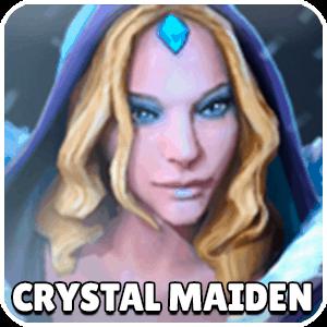 Crystal Maiden Chess Piece Icon Dota Auto Chess