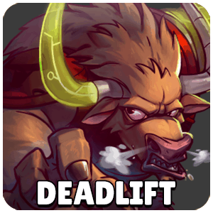 Deadlift Character Icon Awesomenauts