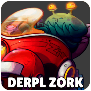 Derpl Zork Character Icon Awesomenauts