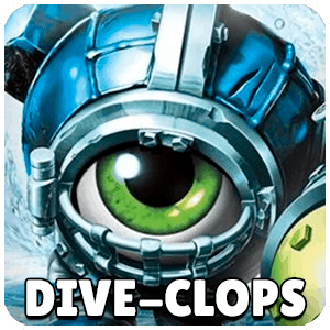 Dive-Clops Skylander Icon Skylanders Ring of Heroes
