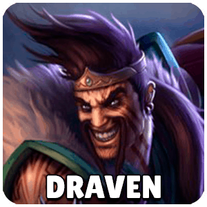 Draven Champion Icon Teamfight Tactics