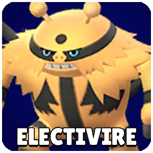 Electivire Pokemon Icon Pokemon Go