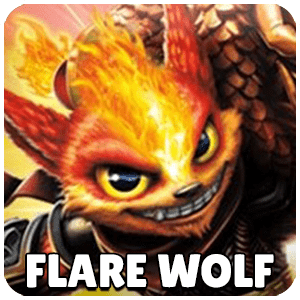 Flare Wolf Skylander Icon Skylanders Ring of Heroes