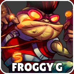 Froggy G Character Icon Awesomenauts