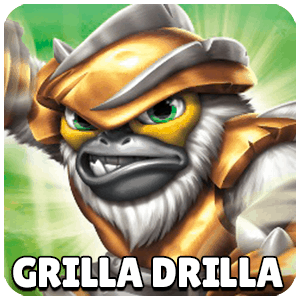 Grilla Drilla Skylander Icon Skylanders Ring of Heroes