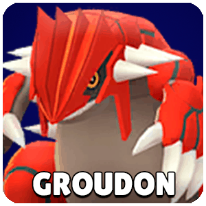 Groudon Pokemon Icon Pokemon Go
