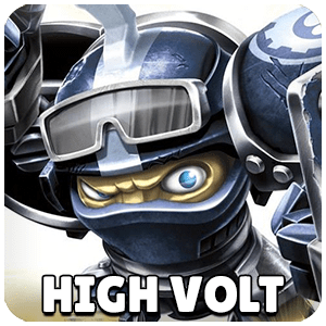 High Volt Skylander Icon Skylanders Ring of Heroes