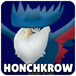 Honchkrow Pokemon Icon Pokemon Go