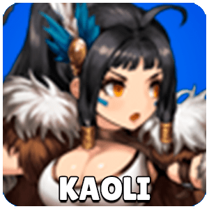 Kaoli Mercenary Icon Brown Dust
