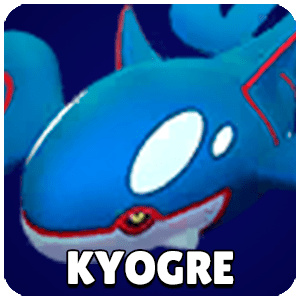 Kyogre Pokemon Icon Pokemon Go