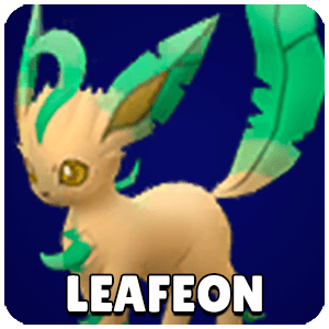 Leafeon Pokemon Icon Pokemon Go