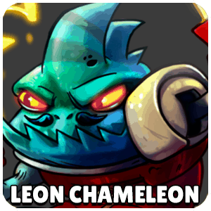 Leon Chameleon Character Icon Awesomenauts