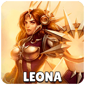 Leona Champion Icon Teamfight Tactics