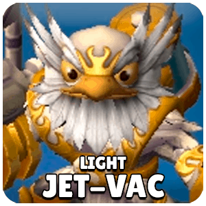 Light Jet-Vac Skylander Icon Skylanders Ring of Heroes