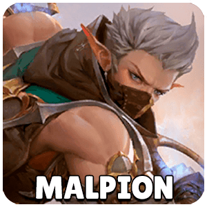 Malpion Hero Icon Overhit