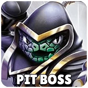 Pit Boss Skylander Icon Skylanders Ring of Heroes