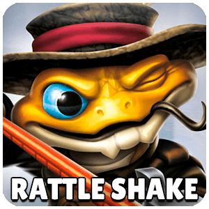 Rattle Shake Skylander Icon Skylanders Ring of Heroes