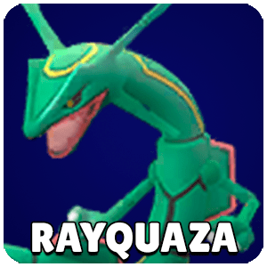 Rayquaza Pokemon Icon Pokemon Go