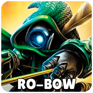Ro-Bow Skylander Icon Skylanders Ring of Heroes
