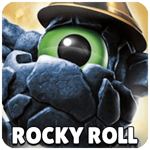 Rocky Roll Skylander Icon Skylanders Ring of Heroes