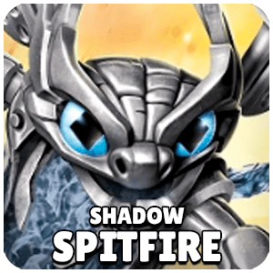 Shadow Spitfire Skylander Icon Skylanders Ring of Heroes