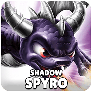 Shadow Spyro Skylander Icon Skylanders Ring of Heroes