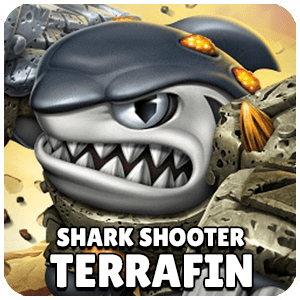 Shark Shooter Terrafin Skylander Icon Skylanders Ring of Heroes