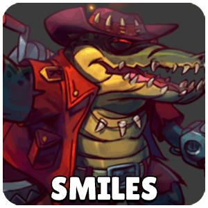 Smiles Lonestar Character Icon Awesomenauts