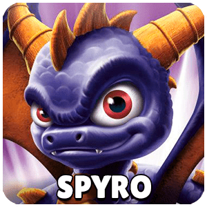 Spyro Skylander Icon Skylanders Ring of Heroes