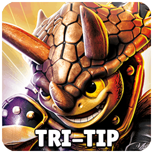 Tri-Tip Skylander Icon Skylanders Ring of Heroes