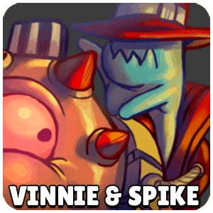 Vinnie and Spike Character Icon Awesomenauts