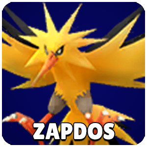 Zapdos Pokemon Icon Pokemon Go