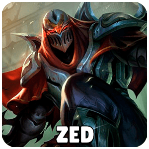 Zed Champion Icon Teamfight Tactics