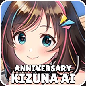 Anniversary Kizuna Ai Ship Icon Azur Lane