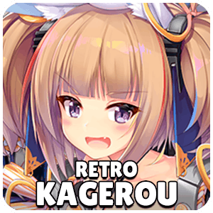 Retro Kagerou Ship Icon Azur Lane