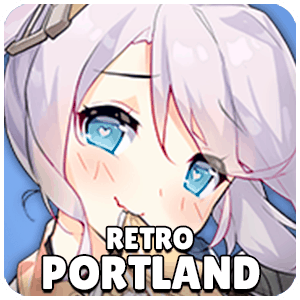 Retro Portland Ship Icon Azur Lane