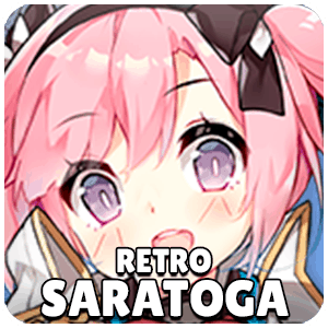 Retro Saratoga Ship Icon Azur Lane
